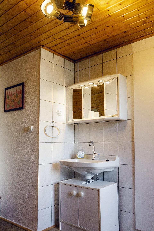 Dachgeschoss-Waschbecken