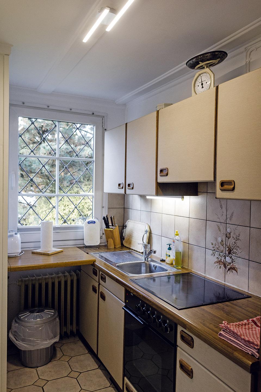 Erdgeschoss-Küche