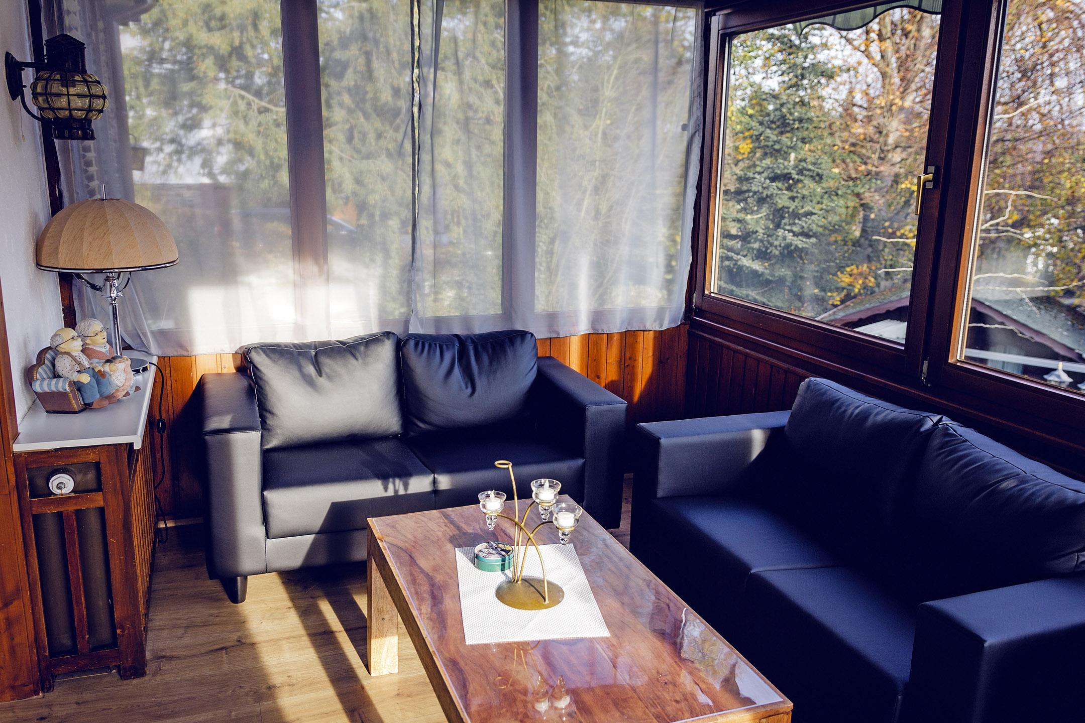 Erdgeschoss-Sitzecke